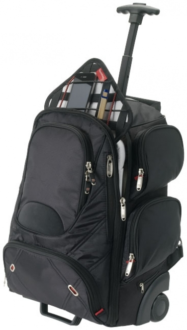 Plecak na kółkach Proton Checkpoint-Friendly na laptop 17'
