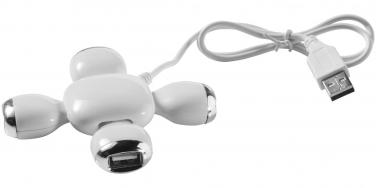 Elastyczny rozdzielacz USB Yoga 4-portowy