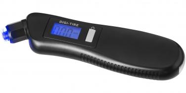 Cyfrowy ciśnieniomierz do opon z latarką 3w1