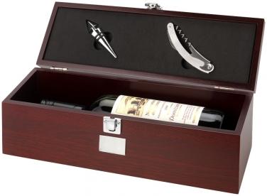 Skrzynka na wino Executive z 2 elementami