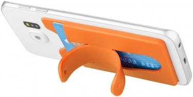 Silikonowy portfel na telefon ze stojakiem