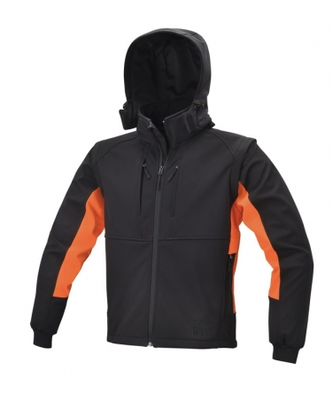 Kurtka softshell z kapturem 7683 BETA
