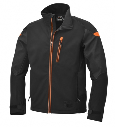 Kurtka softshell z kapturem 7684 BETA