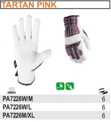 Rękawice robocze ogrodowe ze skóry licowej Beihai, odporne na przetarcia PA7226W