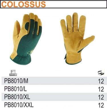 Rękawice do prac ogrodniczych, ze skóry naturalnej PB8010