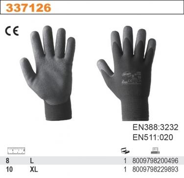 Rękawice robocze dwuwarstwowe z pianką kompozytową NINJA ICE