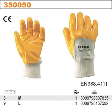 Rękawice robocze GOBI z dżerseju pokrytego NBR