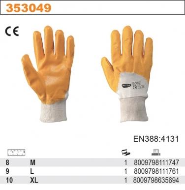 Rękawice robocze SONORA z dżerseju pokrytego NBR