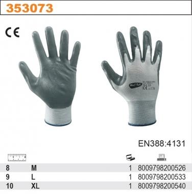 Rękawice robocze z powłoką nitrylową