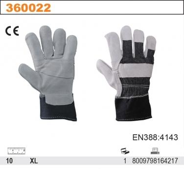 Rękawice robocze z dwoiny bydlęcej 275RJ