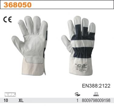 Rękawice robocze ze skóry licowej 015/B