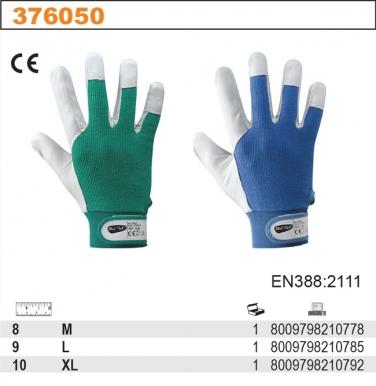 Rękawice robocze z owczej skóry licowej BALL 376050, ROZMIAR 10 (1PARA)