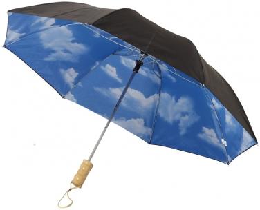 2-częściowy automatyczny parasol Blue Skies o średnicy 21'
