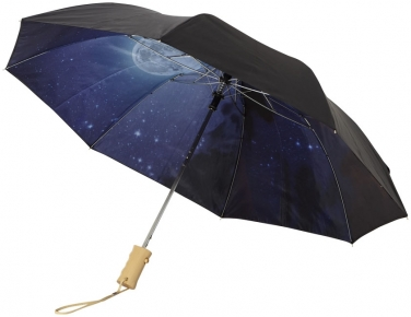 2-częściowy automatyczny parasol Clear Night Sky o średnicy 21'