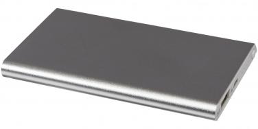 Aluminiowy power bank Pep 4000 mAh