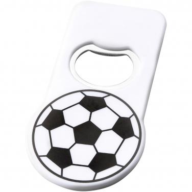 Futbolowy otwieracz do butelek z magnesem