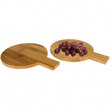 Amuse 2-częściowy zestaw bambusowy okrągły