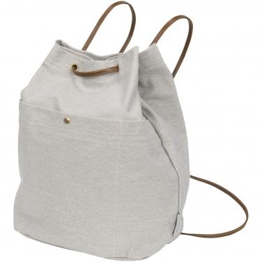 Plecak ściągany sznurkiem z płótna bawełnianego Harper