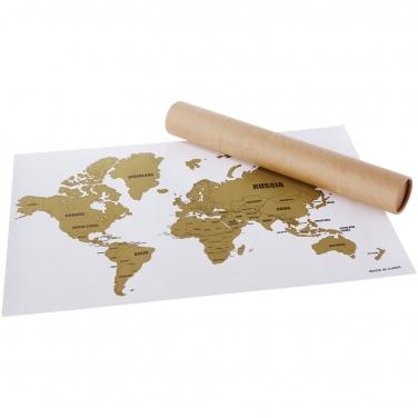 Mapa zdrapka Wanderlust
