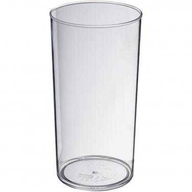 Ekonomiczny kubek Hiball wykonany z tworzywa sztucznego o pojemności 284 ml
