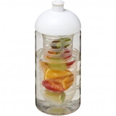 Bidon H2O Bop® o pojemności 500 ml z wypukłym wieczkiem z możliwością przyrządzania wody smakowej