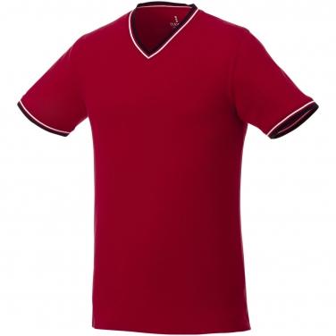 Męski t-shirt pique Elbert