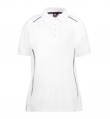 Damska koszulka polo PRO wear | kontrast