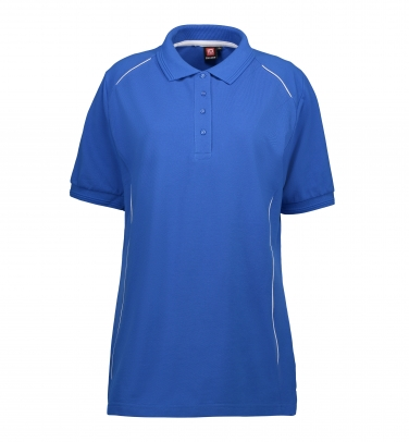 Damska koszulka polo PRO wear   kontrast