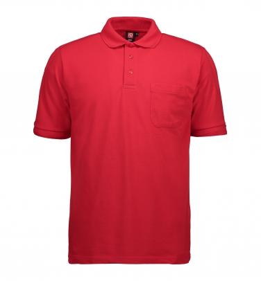 Męska klasyczna koszulka polo   kieszeń