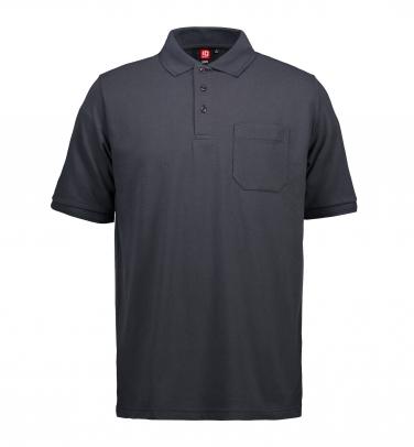 Męska klasyczna koszulka polo | kieszeń