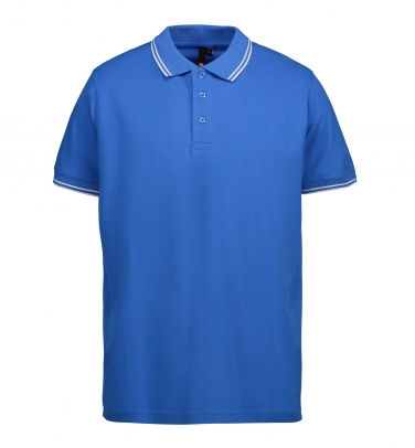 Męska koszulka polo piqué   kontrast