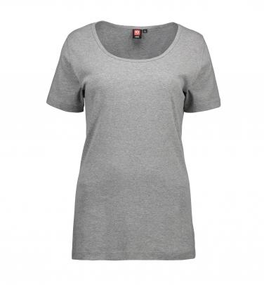 T-shirt Rib 1x1 - Damski