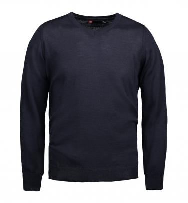 Sweter biznesowy V-neck Męski