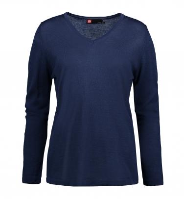 Sweter biznesowy V-neck Damski