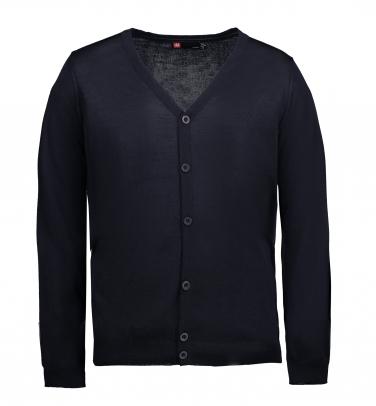 Rozpinany sweter biznesowy - Męski