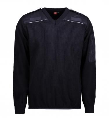 Sweter wojskowy | V-neck