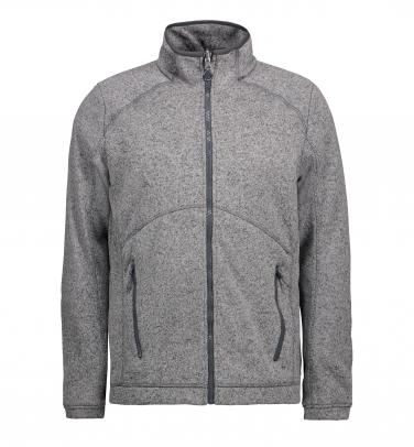 Męska bluza Zip'n'Mix melange fleece