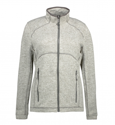 Damska bluza Zip'n'Mix melange fleece